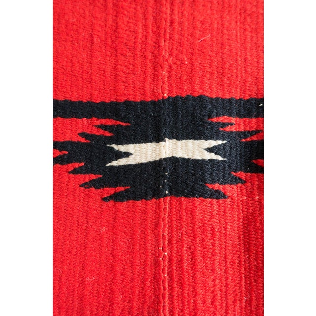Antique Navajo Style Blanket For Sale - Image 10 of 12