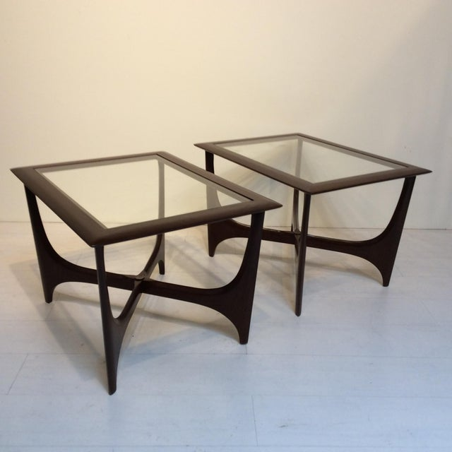 1950s Lane Side Tables - a Pair For Sale - Image 10 of 10