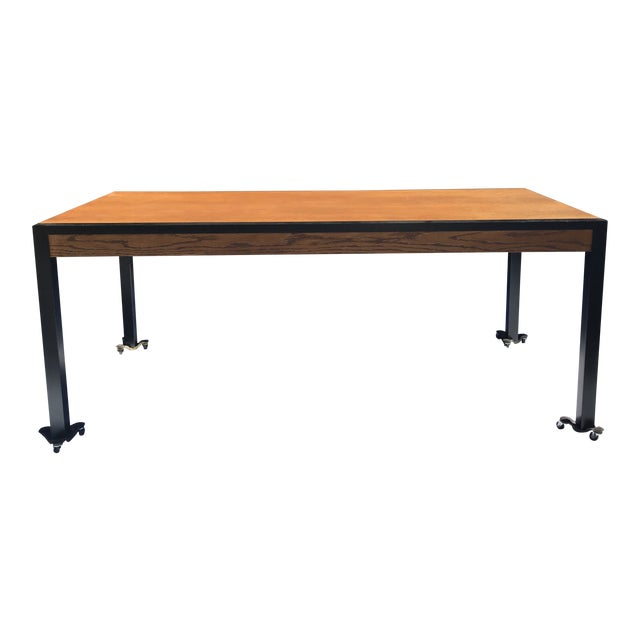 Harvey Probber Oak Desk For Sale