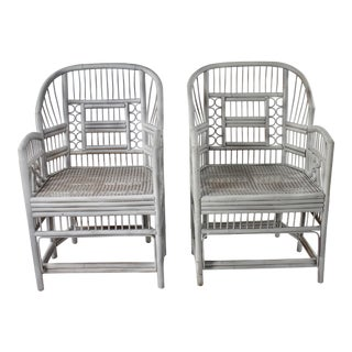 Brighton Pavilion Bamboo Chairs - a Pair For Sale