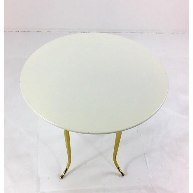 Henredon Jeffery Bilhuber for Henredon Large Chelsea Road Side Table For Sale - Image 4 of 5