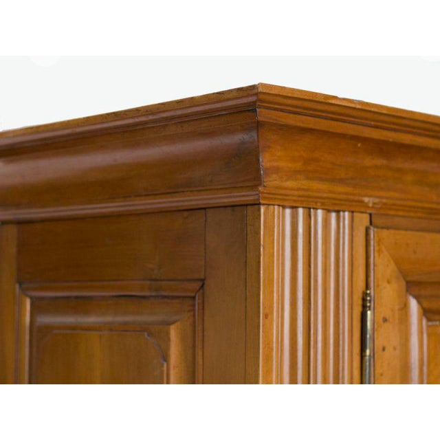 Baroque Mid 19th Century Continental Walnut Cabinet For Sale - Image 3 of 4