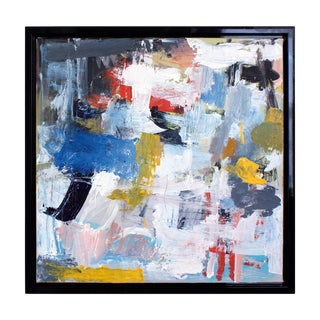"""Lesley Grainger """"In the Silence"""" Original Abstract Painting For Sale"""