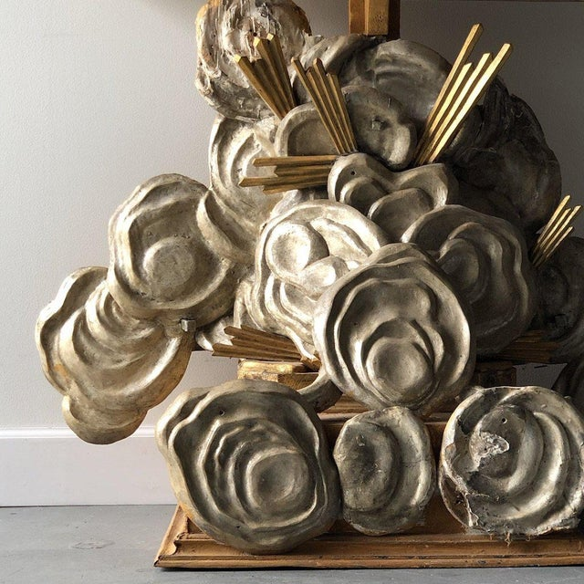 Wood 18th Century Italian Cloud Consoles For Sale - Image 7 of 10