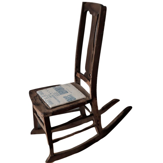 Antique Sewing Nursing Rocking Chair For Sale. This small rocker is a  lady's sewing rocker or nursing rocker. The lack of arms - Antique Sewing Nursing Rocking Chair Chairish