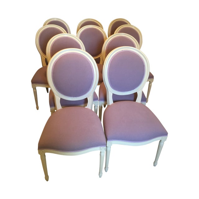 Set of Custom Dining Room Chairs - 10 - Image 1 of 8
