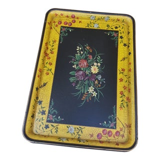 Sarreid Colorful Bohemian Tray For Sale