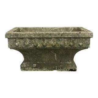 Rectangular Cast Stone Planter