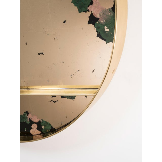 Not Yet Made - Made To Order The Orbit Wall Mirror by Emma Peascod For Sale - Image 5 of 6