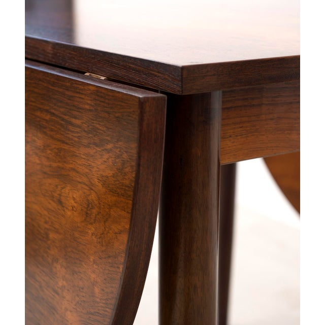 Brown Niels Moller Extending Dining Table in Rosewood, Denmark 1950s For Sale - Image 8 of 12