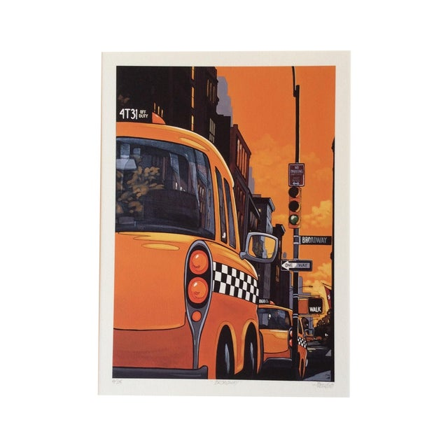 """""""Broadway"""" Neo-Pop Signed Silkscreen - Boudro - Image 1 of 4"""