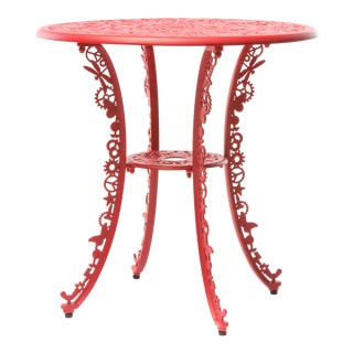 Seletti, Industry Round Table, Indoor/Outdoor, Red, Studio Job, 2017 For Sale