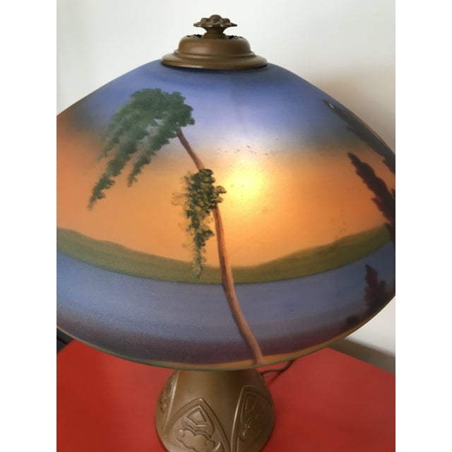 "Fantastic find!!! In our opinion I'd bump condition to ""very good"". When lit, this lamp is absolutely magical &..."
