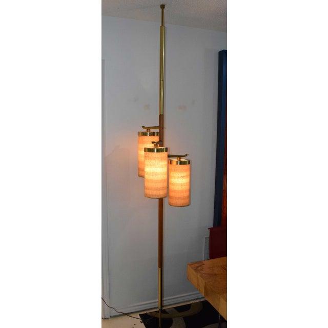 Stiffel MId-Century Pole Floor Lamp - Image 3 of 7