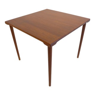 Teak Side Table by Peter Hvidt and O. Molgaard-Nielsen For Sale