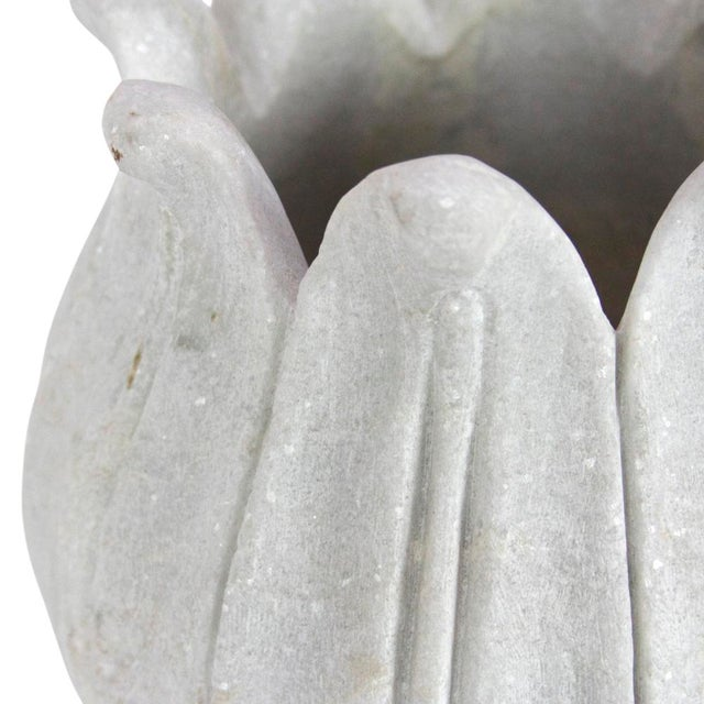 Payoja Marble Vase For Sale - Image 4 of 4