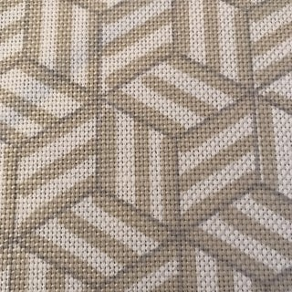 Miles Redd for Schumacher Tumbling Block Fabric 7 1/2 Continuous Yards Preview
