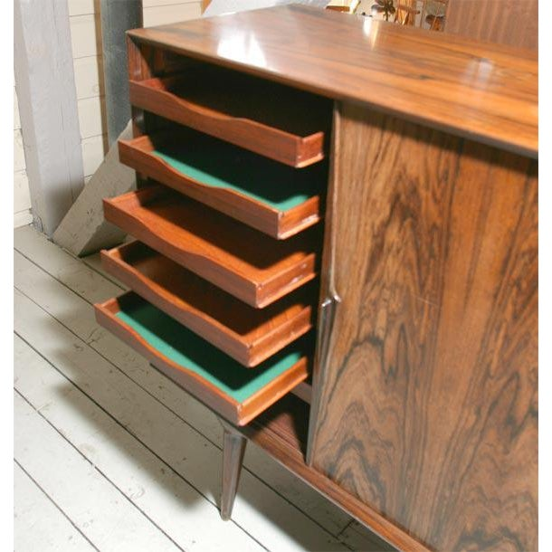 Danish Modern Danish Modern Rosewood Credenza For Sale - Image 3 of 7