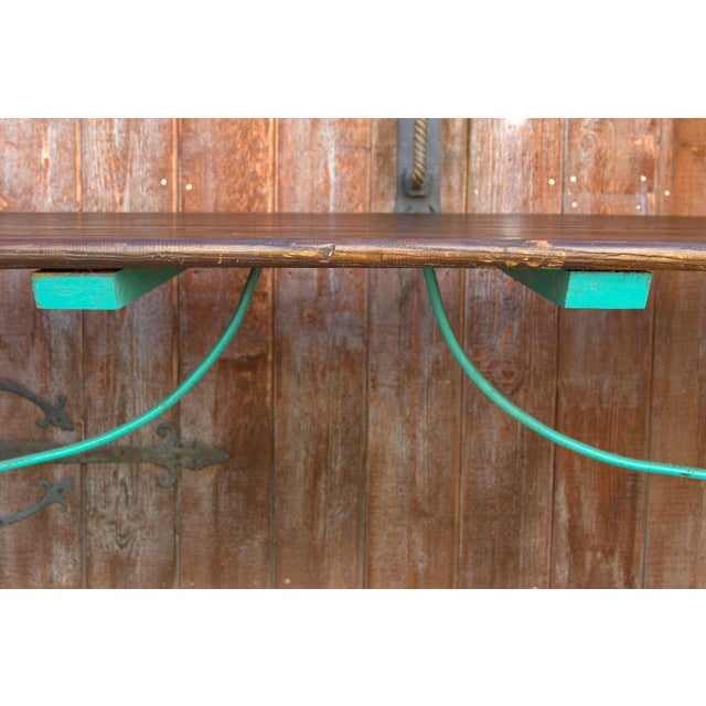 Mid 20th Century Vibrant Spanish Colonial Dining Table For Sale - Image 5 of 8