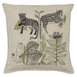 Jungle Living Tree Pillow For Sale