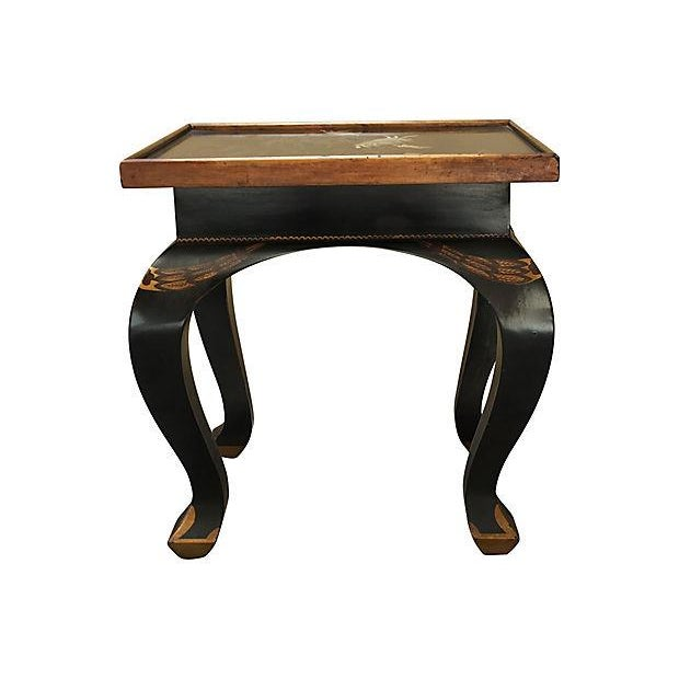 Lacquered Side Table - Image 8 of 8