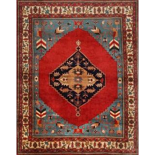 Mansour Fine Handmade Serapi Rug