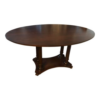 Traditional Style Dining Room Table For Sale