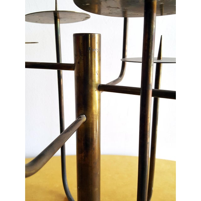 1950s 1950s Organic Modernist Studio Candelabra For Sale - Image 5 of 6