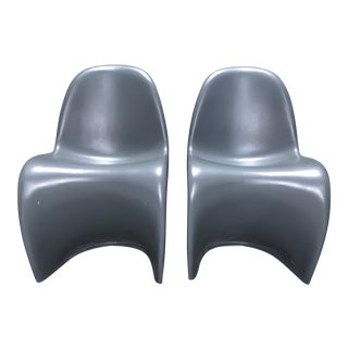 Modern Panton S Chairs - a Pair For Sale