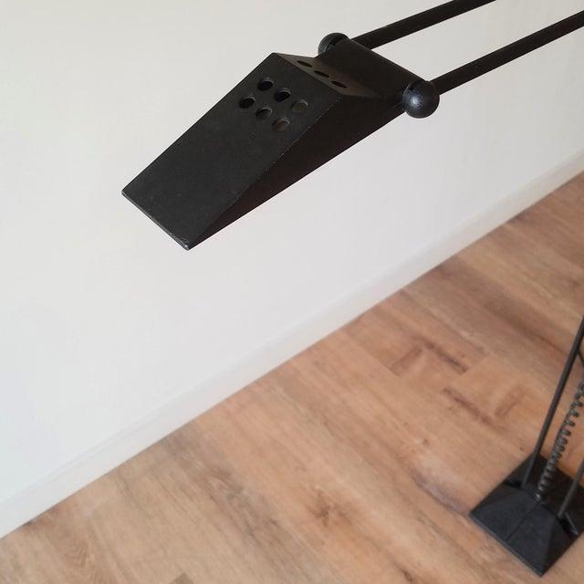 1980s Artup Crane Floor Lamp For Sale - Image 9 of 13