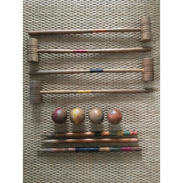 Antique Standard Croquet Set For Sale - Image 5 of 5