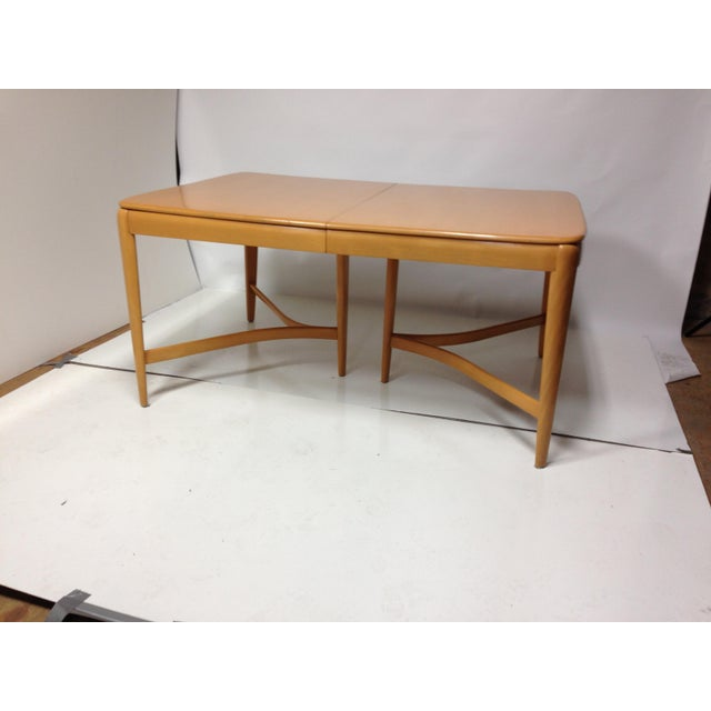 Mid-Century Modern 1940s Vintage Heywood Wakefield Dining Set For Sale - Image 3 of 8