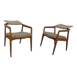 Danish Modern Armchairs by Sigvard Bernadotte for France & Daverkosen For Sale