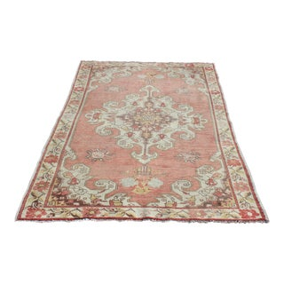 Vintage Decorative Red Tone Rug - 7' 2'' x 4' 5''