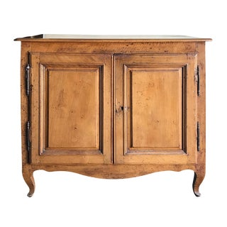 19th Century French Provincial Fruitwood Cabinet For Sale