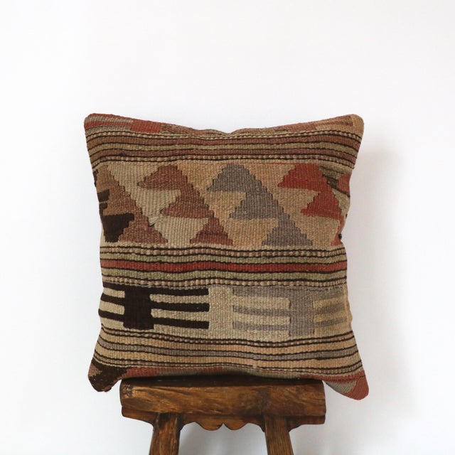 Vintage Kilim Pillow Cover - Image 2 of 3