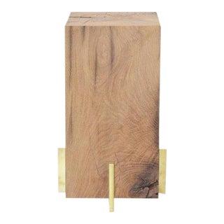 Ozshop Oak Beam Stool or Side Table For Sale