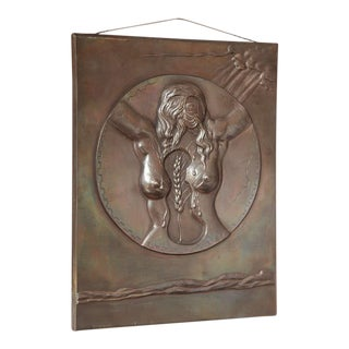 Dali Bronze Bas-Relief Fécondité For Sale