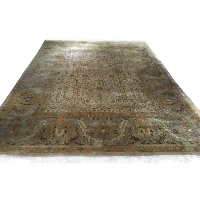 Vintage Wool Persian Rug - Image 1 of 6