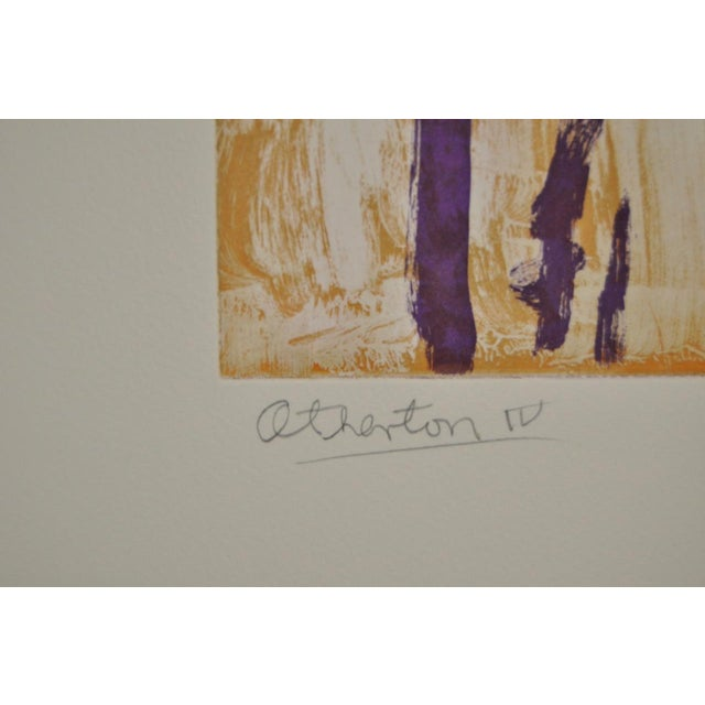 "Arthur Krakower Arthur Krakower ""Atherton"" Original Monotype C.2004 For Sale - Image 4 of 6"