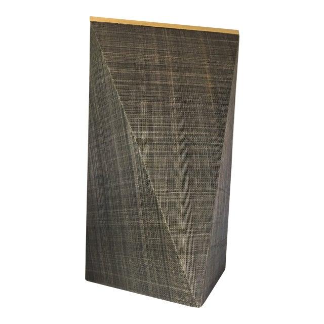 Modern Abstract Palecek Zephyr Side Table For Sale