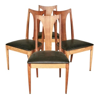 1960s Brasilia-Style Dining Chairs, Set of 4 For Sale