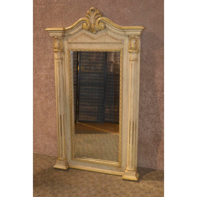 Cellini Furniture Neo-Classic Style Italian Wall Mirror For Sale - Image 13 of 13