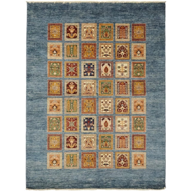 "2010s Traditional Hand-Knotted Area Rug 8' 0"" x 9' 8"" For Sale - Image 5 of 8"