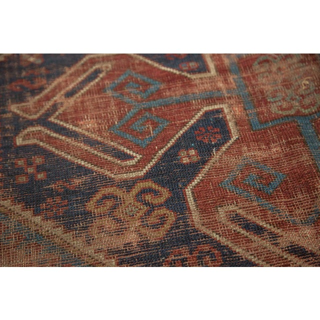 "Vintage Caucasian Carpet - 5'8"" X 7'6"" - Image 5 of 9"