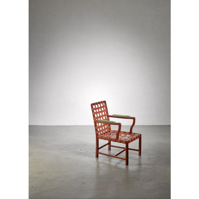 Walter Sobotka Armchair, Austria, Circa 1930 For Sale - Image 6 of 11