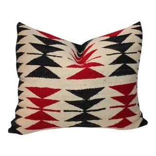 Navajo Flying Geese Pattern Pillow For Sale