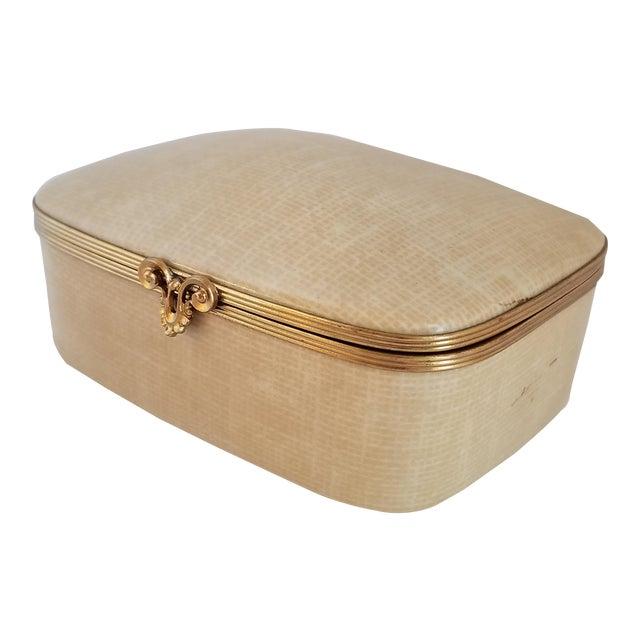 Vintage Chamart Limoges Trinket Box For Sale