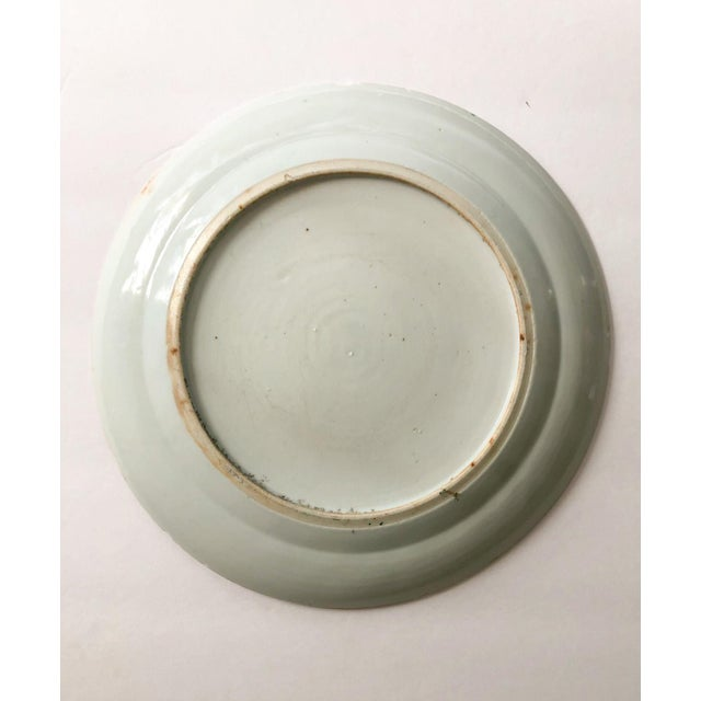 Asian Rose Medallion Plate For Sale - Image 3 of 4