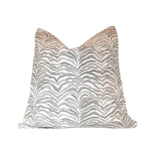 Lacefield Designs' Serengeti Bisque Animal Print Pillow Cover